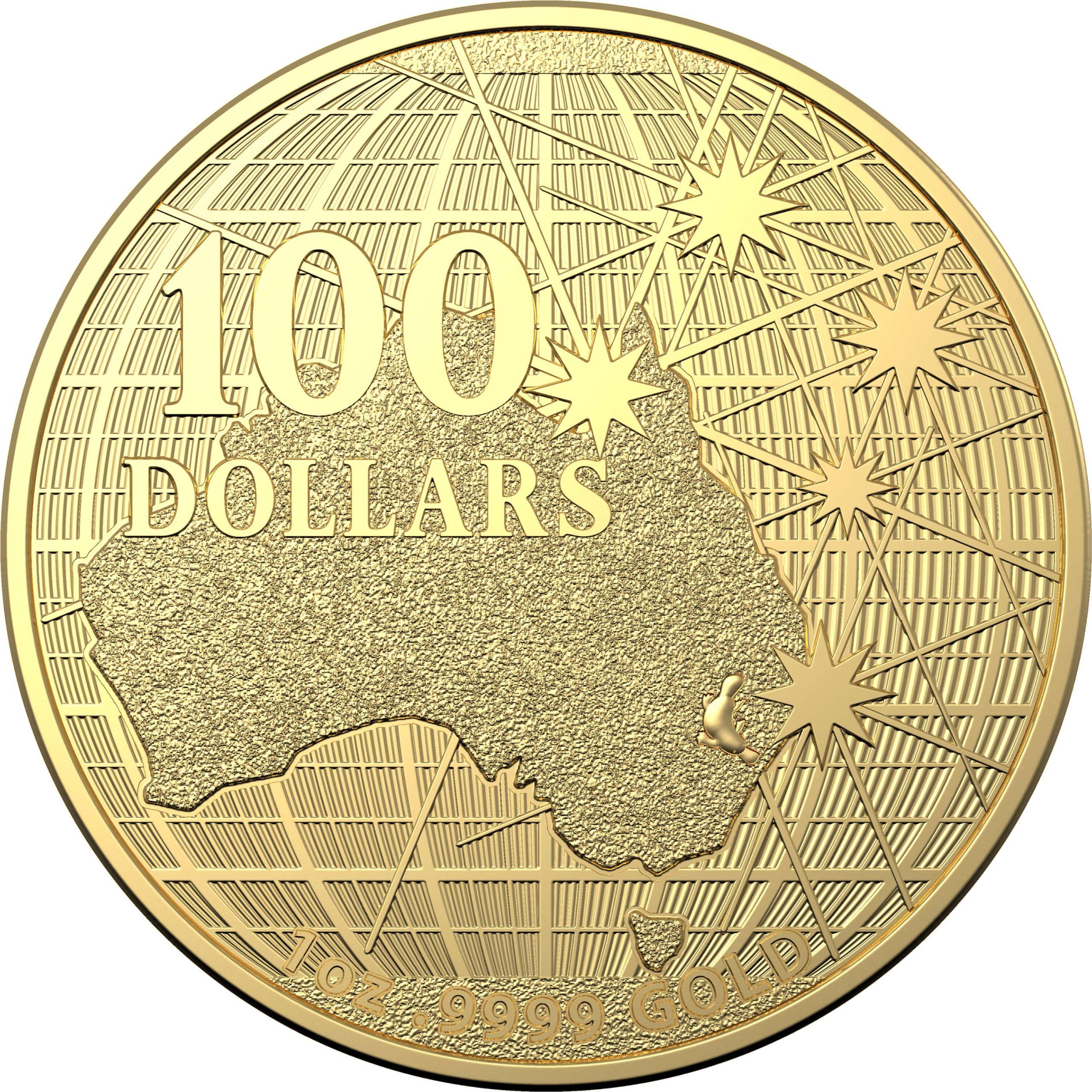 2021 $100 Beneath the Southern Skies 1oz .9999 Gold Bullion Coin - Platypus 1