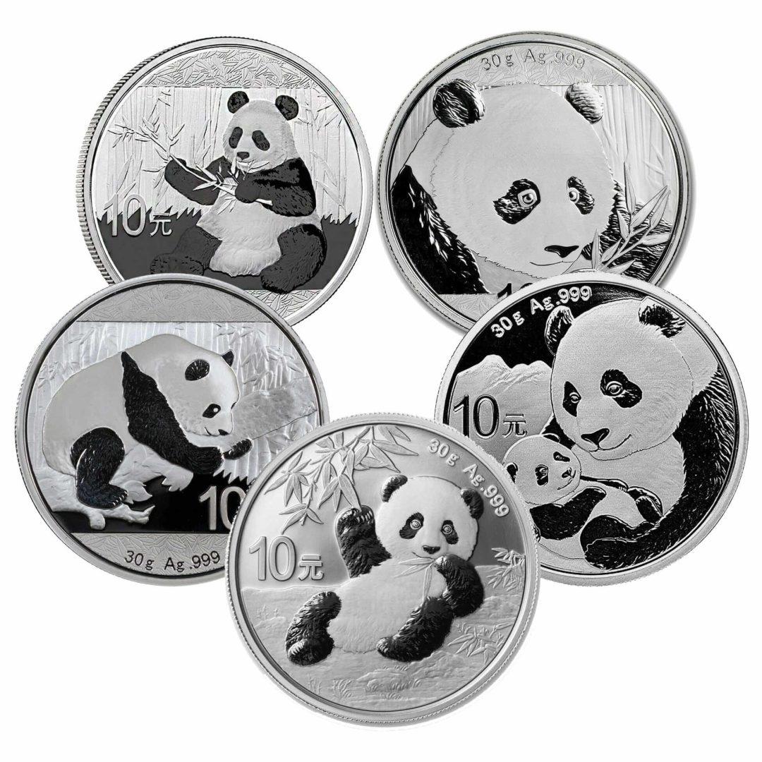 Low Premium 30g Silver Bullion - Chinese Panda 1