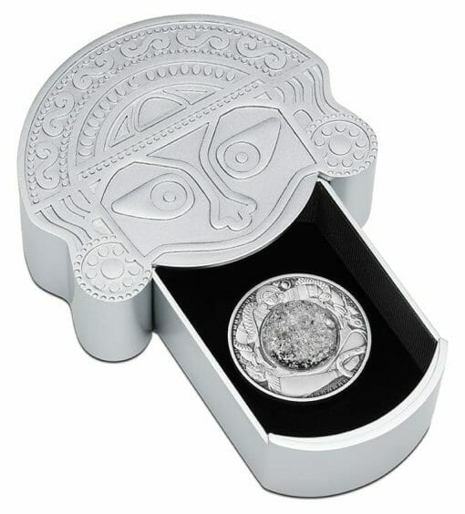 2021 Tears of the Moon 2oz .9999 Silver Antiqued Coin 5