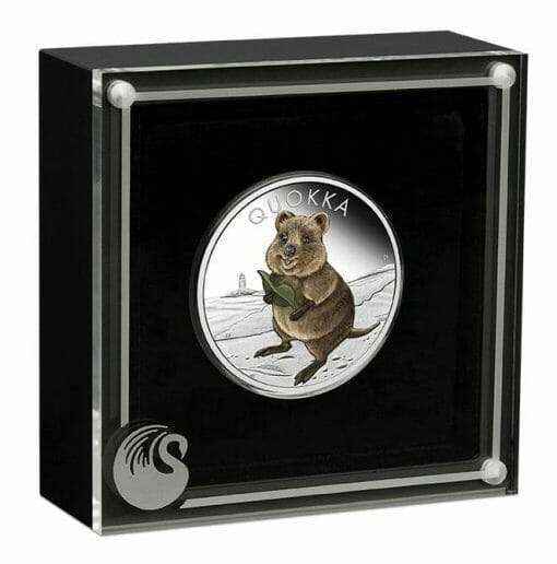 2021 Quokka 1oz .9999 Silver Proof Coloured Coin 4