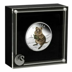 2021 Quokka 1oz .9999 Silver Proof Coloured Coin 8