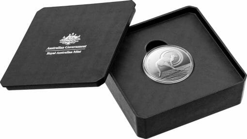2021 $1 Kangaroo Series - Outback Majesty 1oz .999 Silver Proof Coin 3