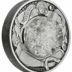2021 Tears of the Moon 2oz .9999 Silver Antiqued Coin 7