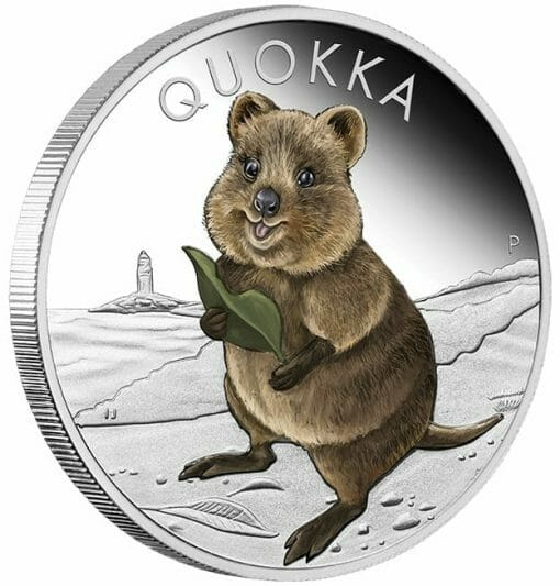 2021 Quokka 1oz .9999 Silver Proof Coloured Coin 2
