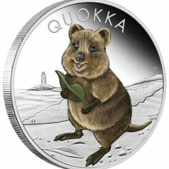 2021 Quokka 1oz .9999 Silver Proof Coloured Coin 6