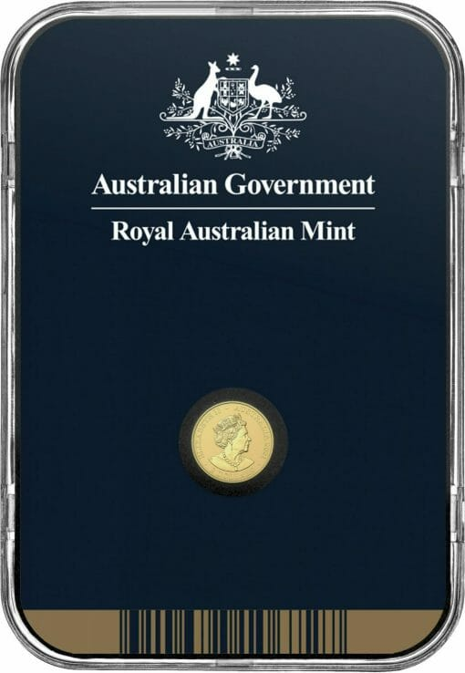 2021 $2 Mini Koala 1/2 gram 0.5g .9999 Gold Frosted Uncirculated Coin 5