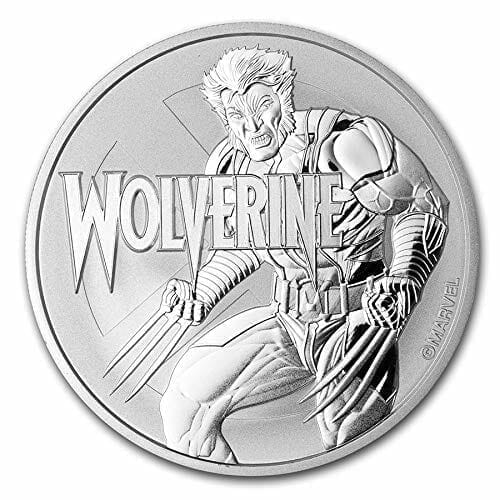 2021 Marvel Series - Wolverine - 1oz .9999 Silver Bullion Coin 1