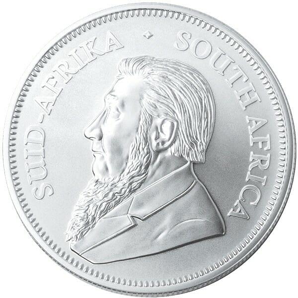 2021 Silver Krugerrand 1oz .999 Silver Bullion Coin 2
