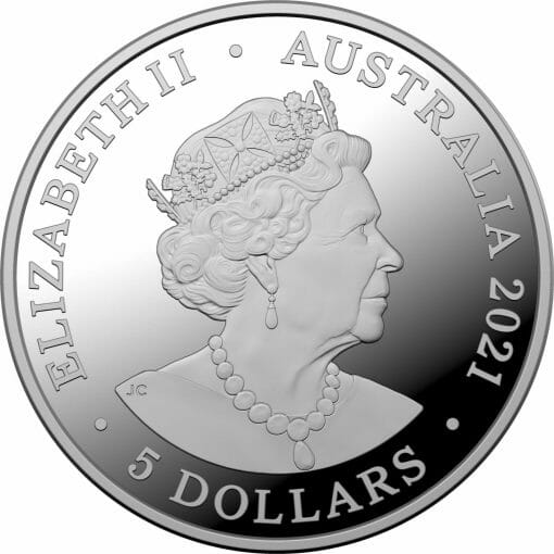 2021 Australia's Most Dangerous - Redback Spider 1oz .999 Silver Coloured Proof Coin 2