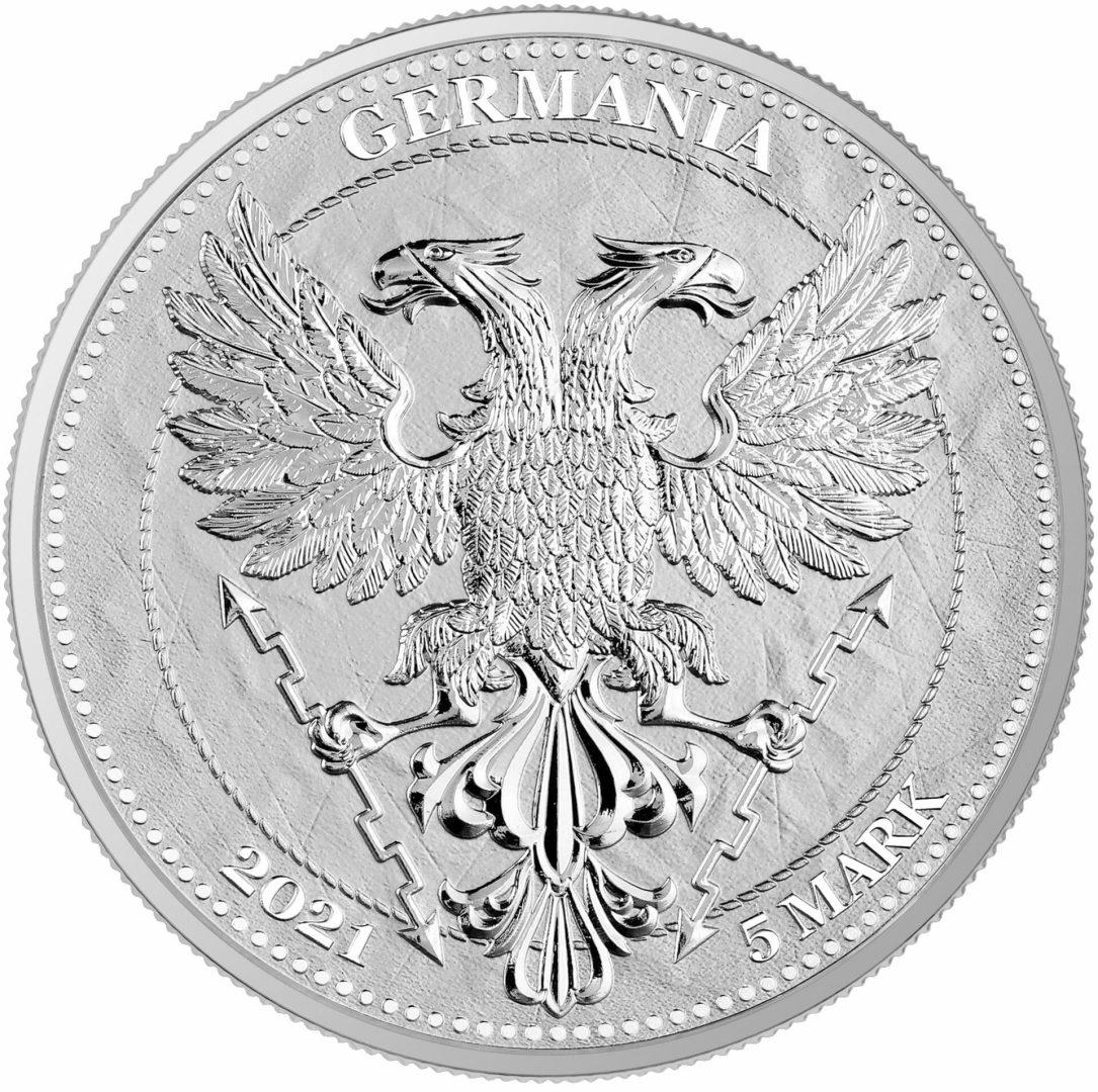 2021 Mythical Forest - Chestnut Leaf 1oz .9999 Silver Bullion Coin 2