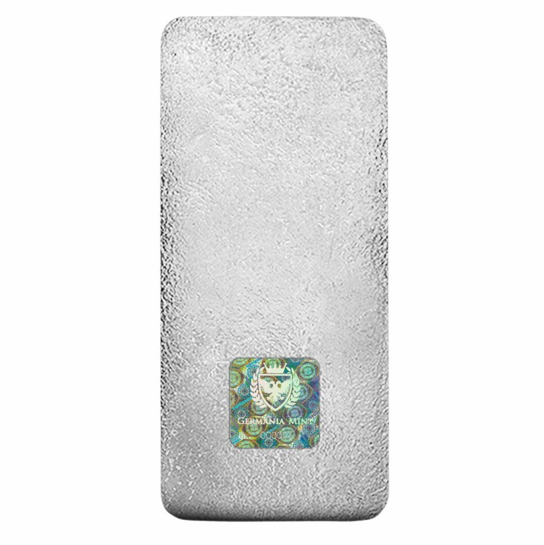 Germania Mint 1kg .999 Silver Cast Bullion Bar - 1 Kilo 5