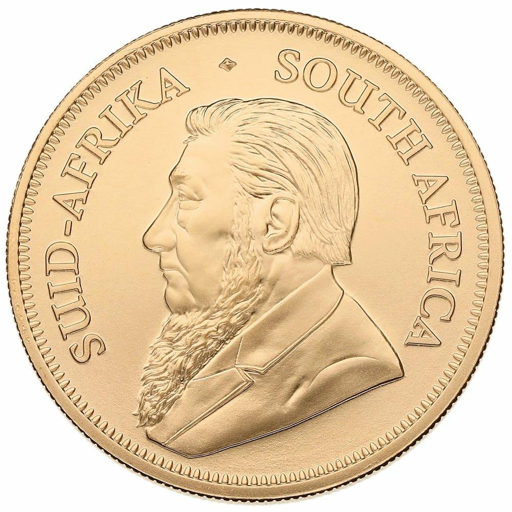 South African Krugerrand 1oz Gold Coin - Random Year 2