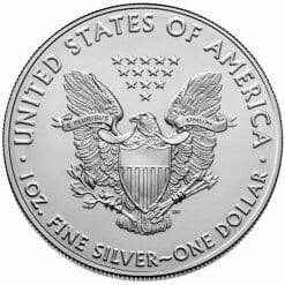2021 American Silver Eagle 1oz .999 Silver Bullion Coin ASE (Type 1) 5