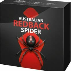 2021 Australia's Most Dangerous - Redback Spider 1oz .999 Silver Coloured Proof Coin 8