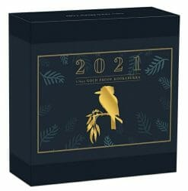 2021 Australian Kookaburra 1/4oz .9999 Gold Proof Coin 9