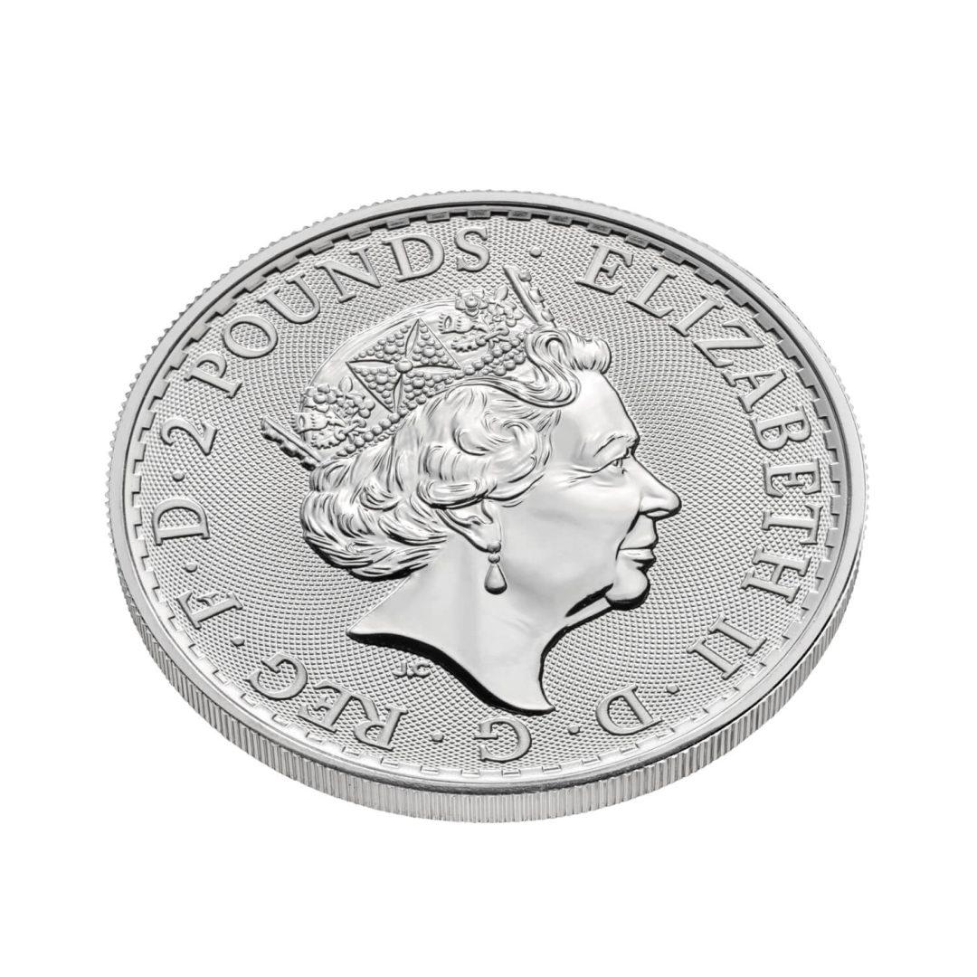2021 Britannia 1oz .999 Silver Bullion Coin 4