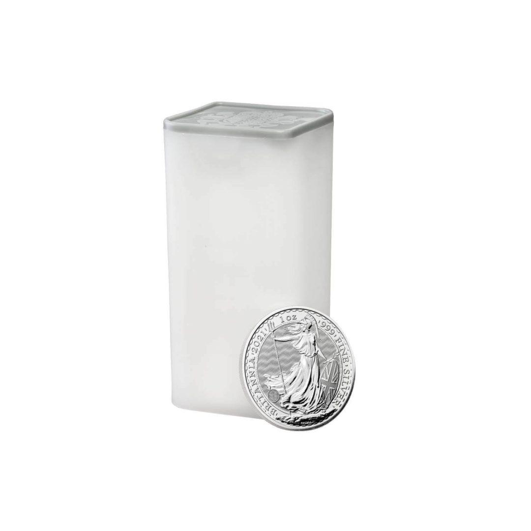 2021 Britannia 1oz .999 Silver Bullion Coin 5