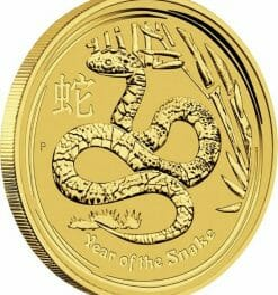 2013 Year of the Snake 1oz .9999 Gold Bullion Coin - Lunar Series 2 4