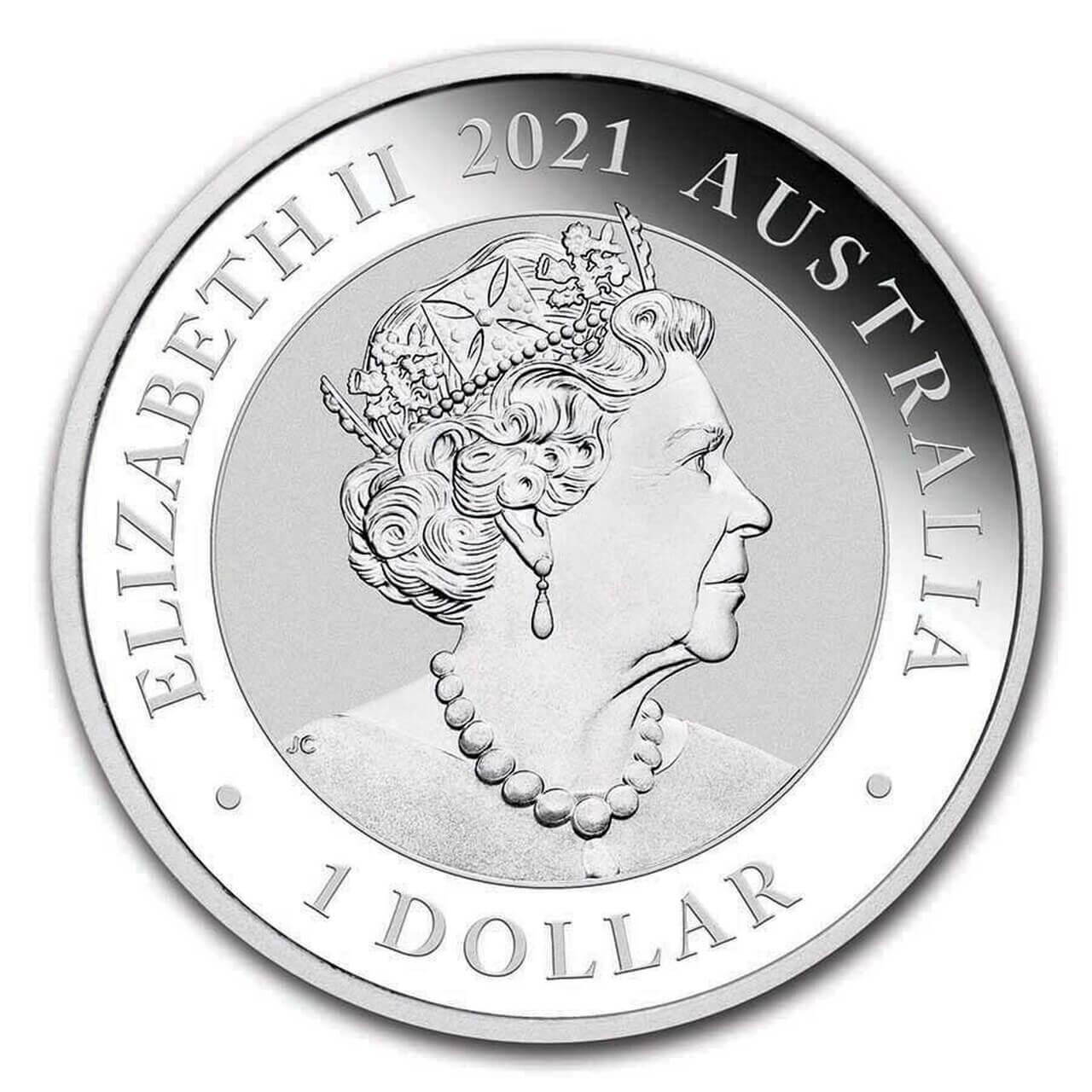 2021 Australian Swan 1oz .9999 Silver Bullion Coin 2