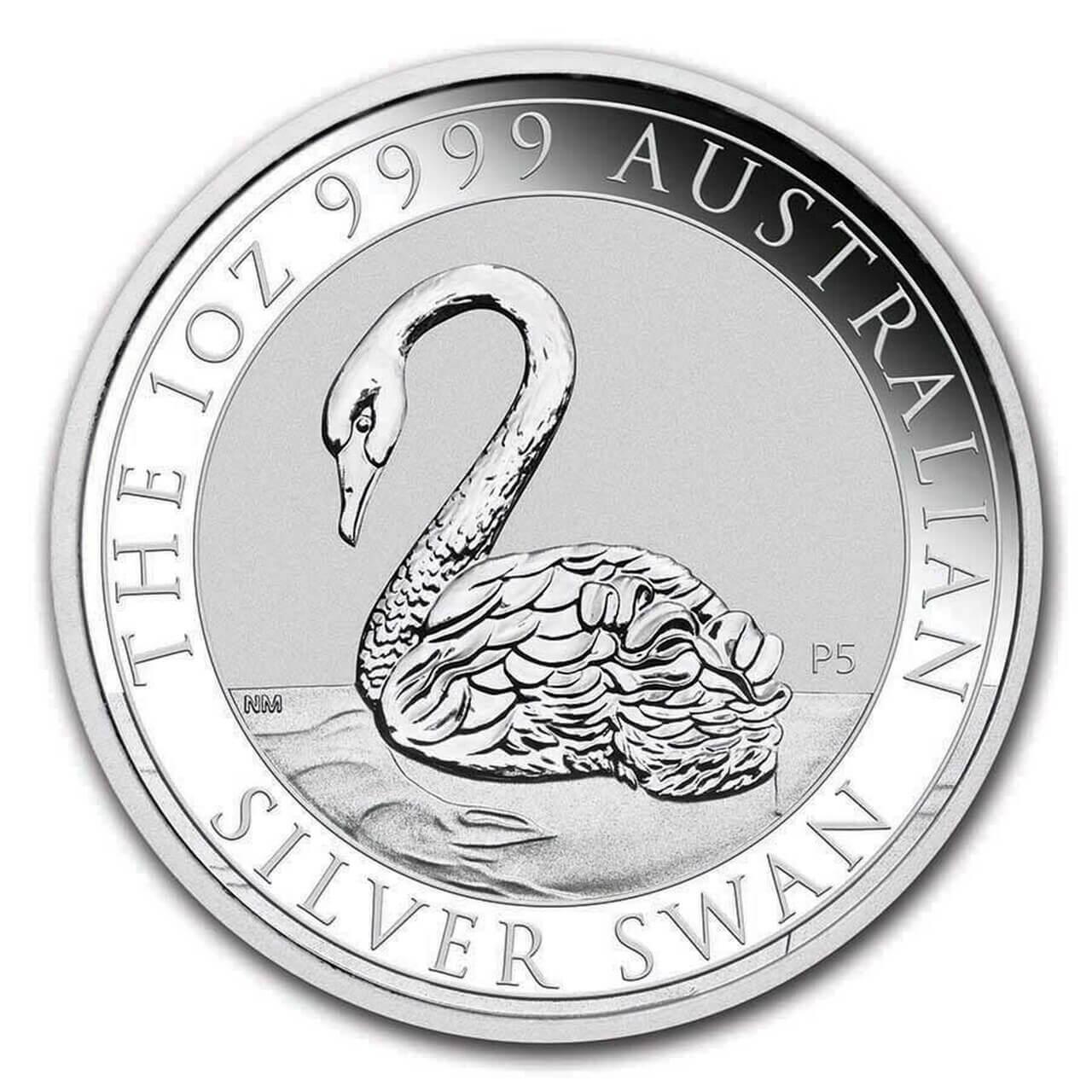 2021 Australian Swan 1oz .9999 Silver Bullion Coin 1