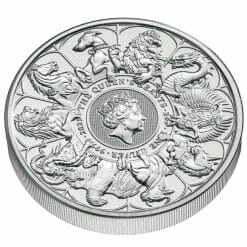 2021 The Queen's Beasts Completer 2oz .9999 Silver Bullion Coin 8