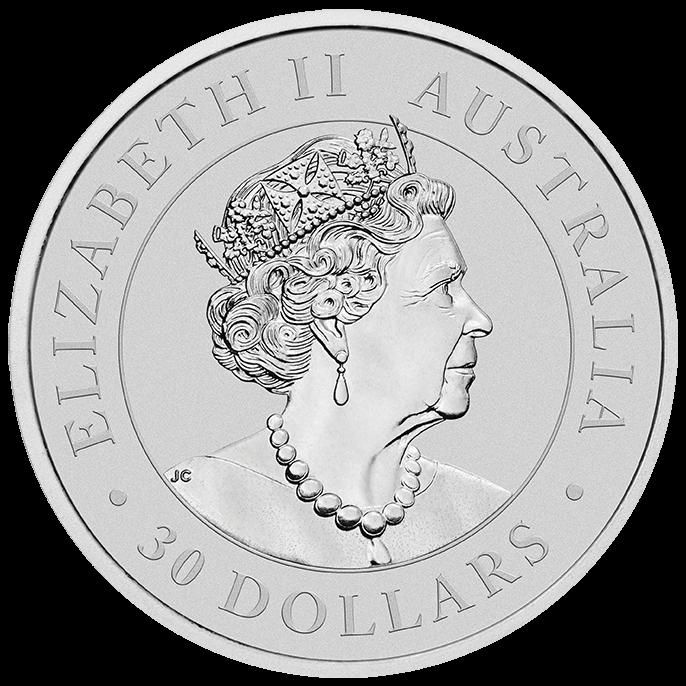 2022 Australian Koala 1kg .9999 Silver Bullion Coin – 1 Kilo Back