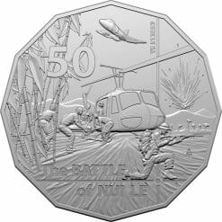 2021 50th Anniversary of the Battle of Nui Le 50c Uncirculated Coin - CuNi