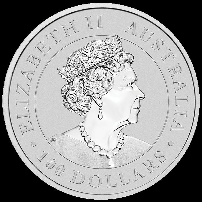 2022 Australian Kangaroo 1oz .9995 Platinum Bullion Coin 2