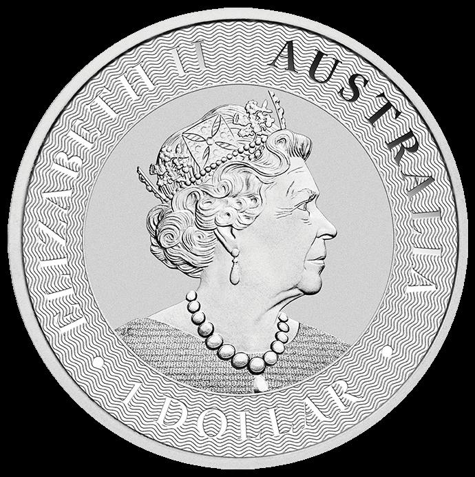 2022 Australian Kangaroo 1oz .9999 Silver Bullion Coin