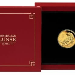 2022 Year of the Tiger 1/10oz .9999 Gold Proof Coin - Lunar Series III