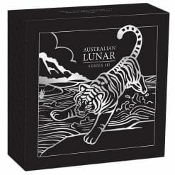 2022 Year of the Tiger 1oz .9999 Silver Proof Coin - Lunar Series III 2