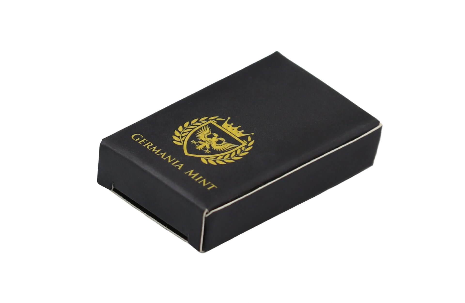 Germania Mint 100g .9999 Silver Cast Bullion Bar 4