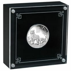 2022 Year of the Tiger 1/2oz .9999 Silver Proof Coin - Lunar Series III