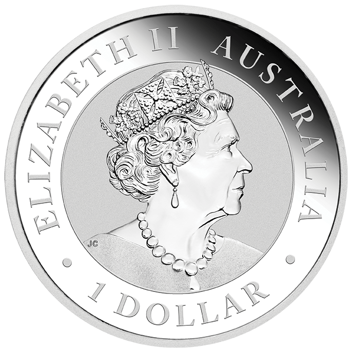 2022 Australian Kookaburra 1oz .9999 Silver Bullion Coin 1