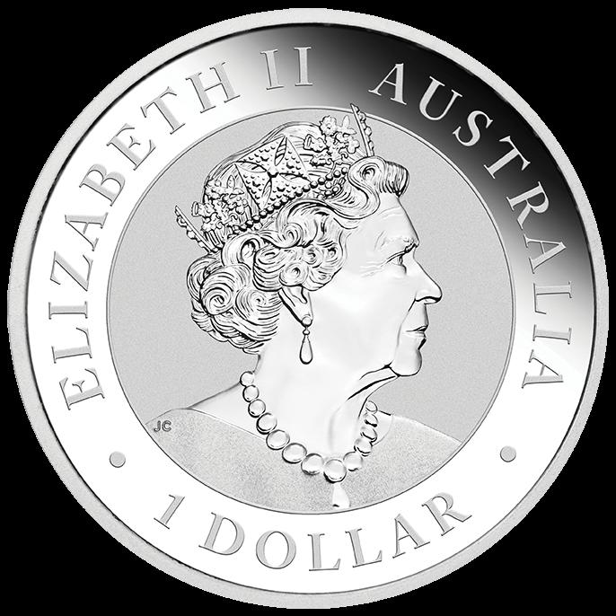 2022 Australian Kookaburra 1oz .9999 Silver Bullion Coin 2