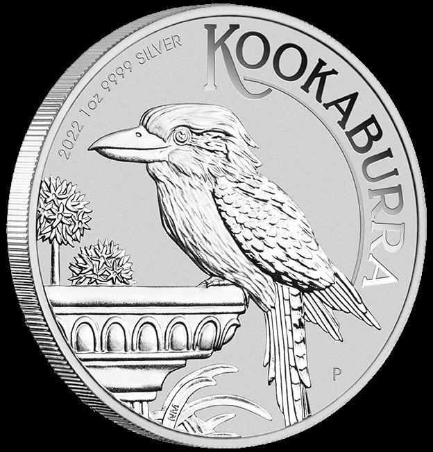 2022 Australian Kookaburra 1oz .9999 Silver Bullion Coin